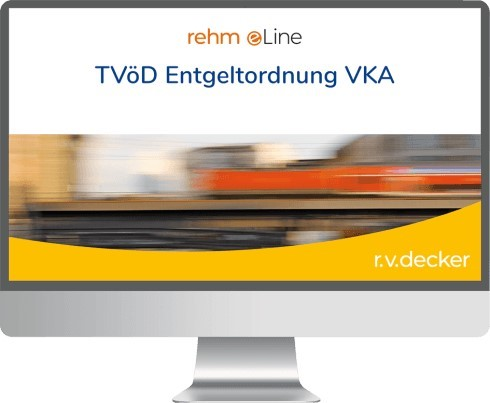 Online TVöD Entgeltordnung VKA | Sponer / Steinherr / Brockmann (Cover)