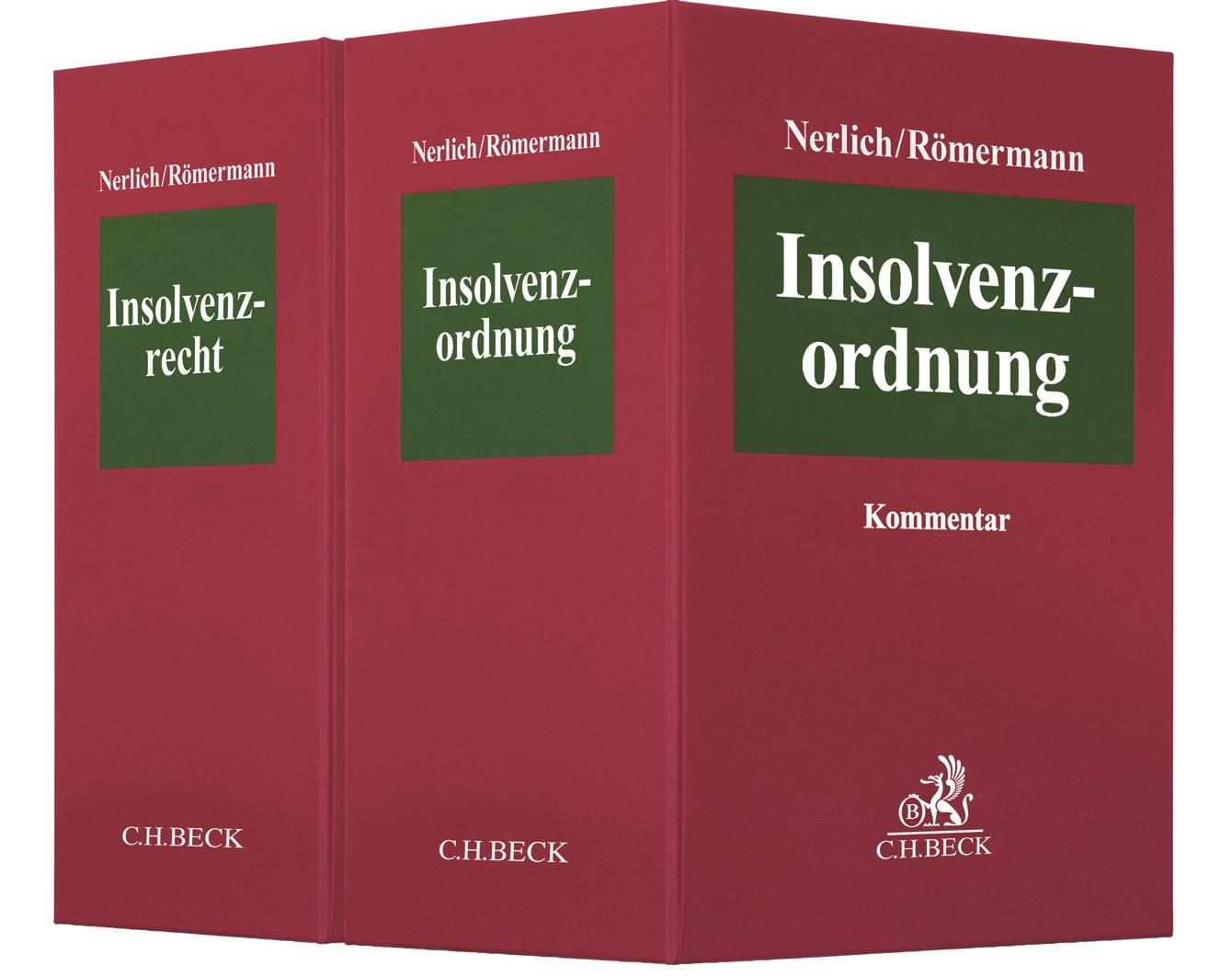 Insolvenzordnung (InsO) | Nerlich / Römermann | 33. Auflage (Cover)