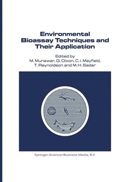 Abbildung von Munawar / Dixon / Mayfield / Reynoldson / Sadar | Environmental Bioassay Techniques and their Application | <em>Reprinted from HYDROBIOLOGIA, 188/189</em> | 1990 | Proceedings of the 1st Interna... | 54