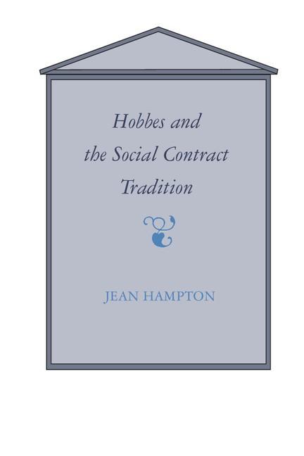 Abbildung von Hampton | Hobbes and the Social Contract Tradition | 1988