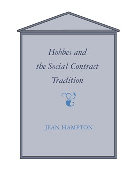 Abbildung von Hampton | Hobbes and the Social Contract Tradition | 1988