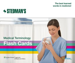 Abbildung von Stedman's Medical Terminology Flash Cards   Second   2009