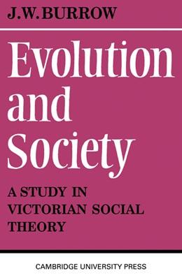 Abbildung von Burrow | Evolution and Society | 1970