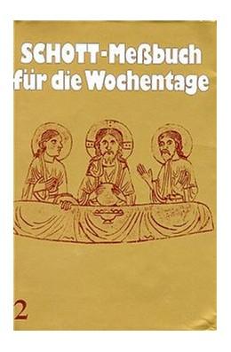 Abbildung von Schott-Messbuch für die Wochentage. Teil II | 1984 | 14 bis 34. Woche im Jahreskrei...