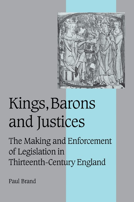 Abbildung von Brand | Kings, Barons and Justices | 2006