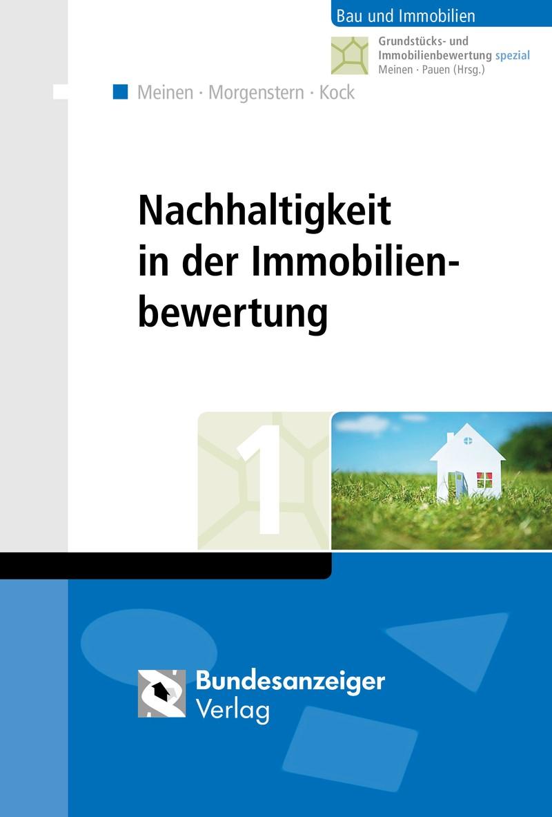 Abbildung von Meinen / Morgenstern / Kock   Nachhaltigkeit in der Immobilienbewertung   2016