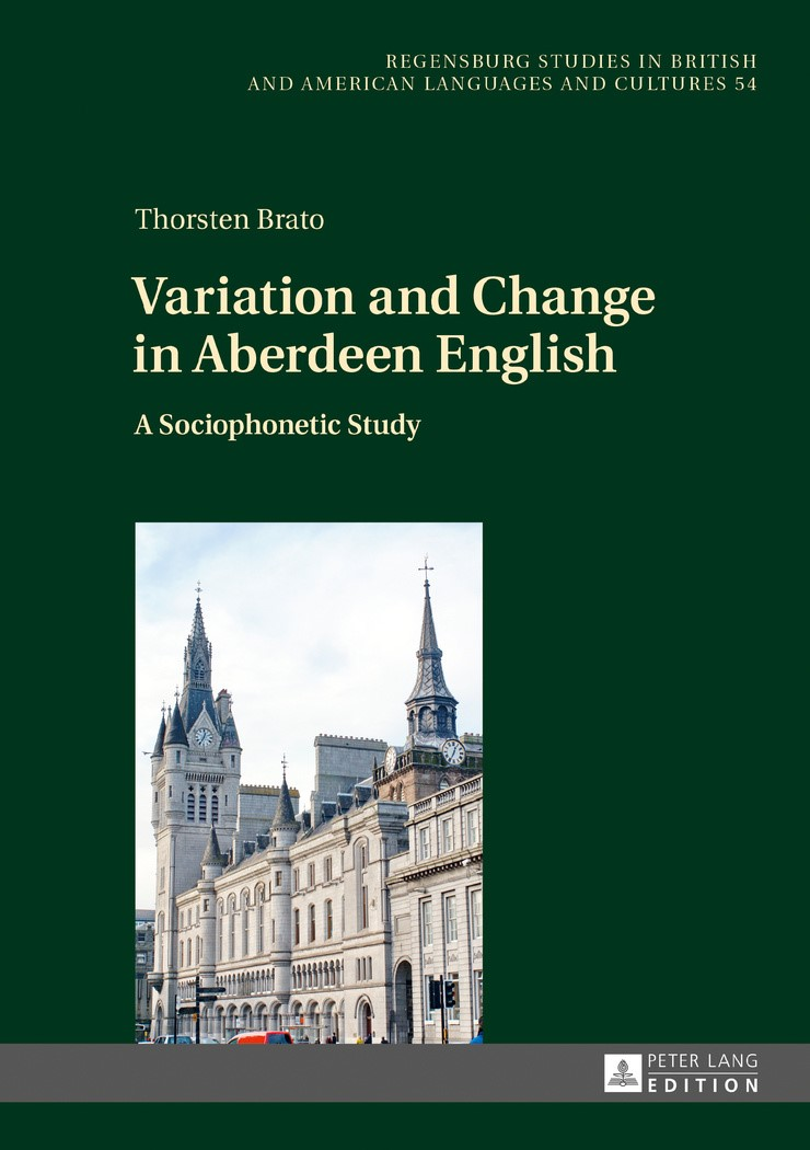 Variation and Change in Aberdeen English | Brato, 2016 | Buch (Cover)