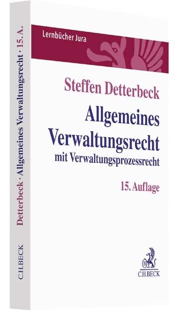 Allgemeines Verwaltungsrecht   Detterbeck   Buch (Cover)