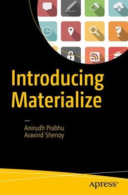 Abbildung von Prabhu / Shenoy | Introducing Materialize | 2017