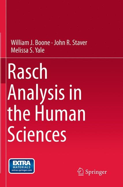Rasch Analysis in the Human Sciences | Boone / Staver / Yale | Softcover reprint of the original 1st ed. 2014, 2016 | Buch (Cover)