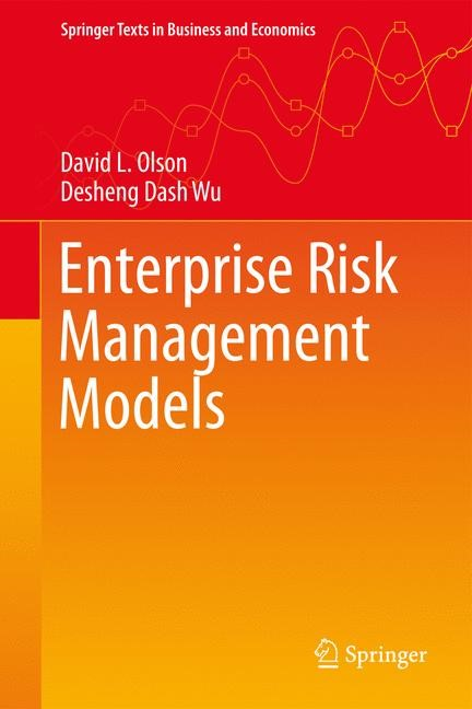 Abbildung von Olson / Dash Wu | Enterprise Risk Management Models | 2nd ed. 2017 | 2017