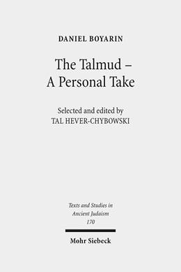 Abbildung von Hever-Chybowski / Boyarin | The Talmud - A Personal Take | 2018 | Selected Essays | 170
