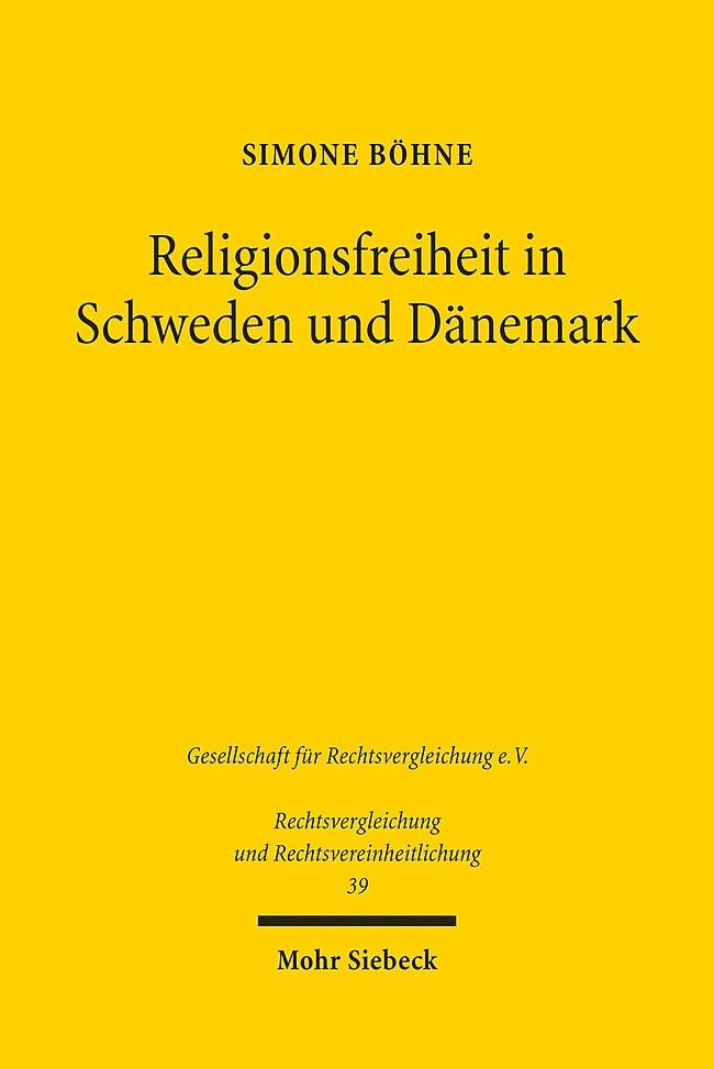 Abbildung von Böhne | Religionsfreiheit in Schweden und Dänemark | 2016