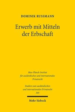 Abbildung von Rußmann | Erwerb mit Mitteln der Erbschaft | 1. Auflage | 2017 | 369 | beck-shop.de