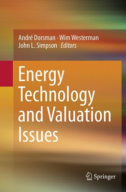 Abbildung von Dorsman / Westerman / Simpson | Energy Technology and Valuation Issues | Softcover reprint of the original 1st ed. 2015 | 2016