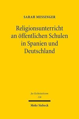 Abbildung von Messinger | Religionsunterricht an öffentlichen Schulen in Spanien und Deutschland | 2016 | 116