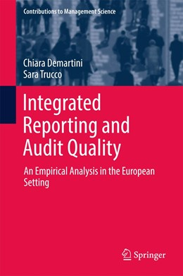Abbildung von Demartini / Trucco | Integrated Reporting and Audit Quality | 1. Auflage | 2017 | beck-shop.de