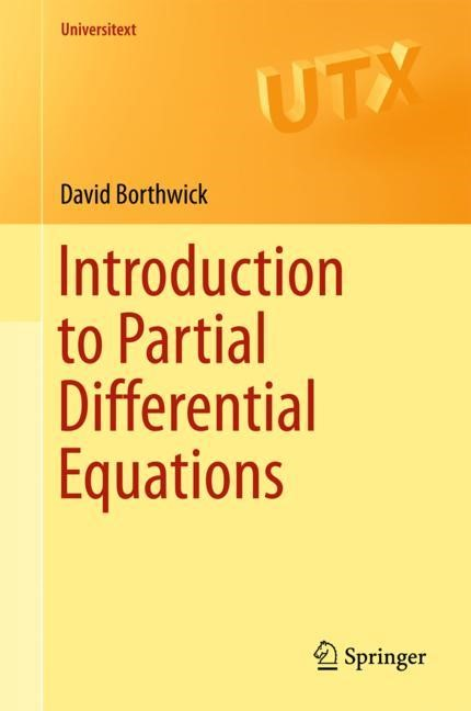 Introduction to Partial Differential Equations | Borthwick | 1st ed. 2016, 2017 | Buch (Cover)