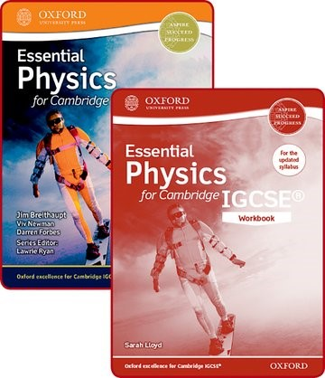 Abbildung von Breithaupt / Newman / Lloyd | Essential Physics for Cambridge IGCSE® Student Book and Workbook Pack | 2016