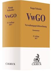 Verwaltungsgerichtsordnung: VwGO | Kopp / Schenke | Buch (Cover)