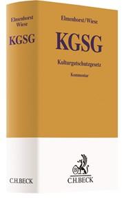 Kulturgutschutzgesetz: KGSG | Elmenhorst / Wiese, 2018 | Buch (Cover)