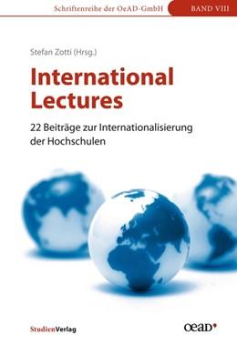 Abbildung von Zotti | International Lectures | mit Beiträgen auf Englisch | 2016 | 22 Beiträge zur Internationali... | 8