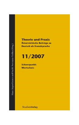 Abbildung von Krumm / Universität Graz | Theorie und Praxis - Österreichische Beiträge zu Deutsch als Fremdsprache 11, 2007 | 2008