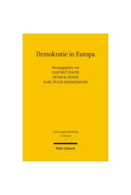 Abbildung von Huber / Sommermann / Bauer   Demokratie in Europa   1., Aufl.   2005   1