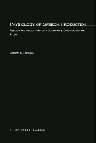 Abbildung von Perkell | Physiology of Speech Production | 2003