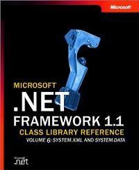 Abbildung von Microsoft(r) .NET Framework 1.1 Class Library Reference Volume 6: System.Xml and System.Data | 2003