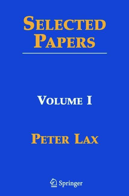 Abbildung von Lax / Sarnak / Majda | Selected Papers I | 2005
