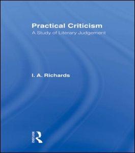 Abbildung von Richards | Practical Criticism V 4 | 2011