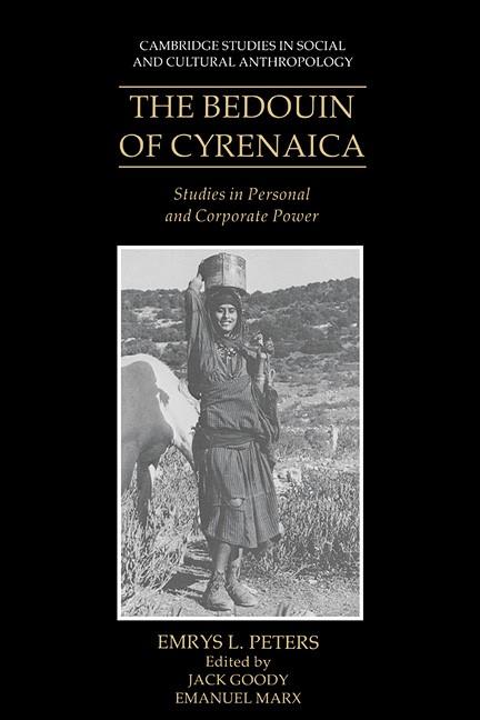 Abbildung von Peters / Goody / Marx | The Bedouin of Cyrenaica | 1991
