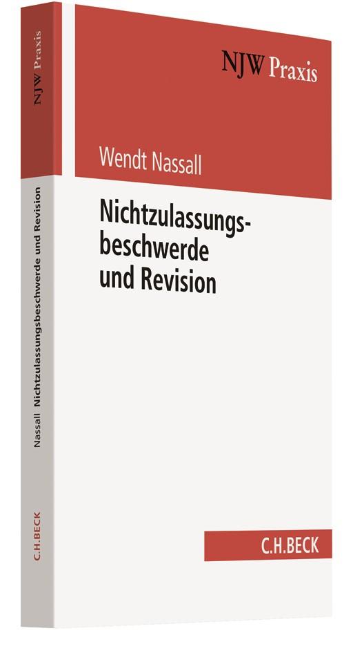 Nichtzulassungsbeschwerde und Revision | Nassall, 2018 | Buch (Cover)