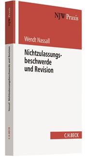 Nichtzulassungsbeschwerde und Revision   Nassall, 2018   Buch (Cover)