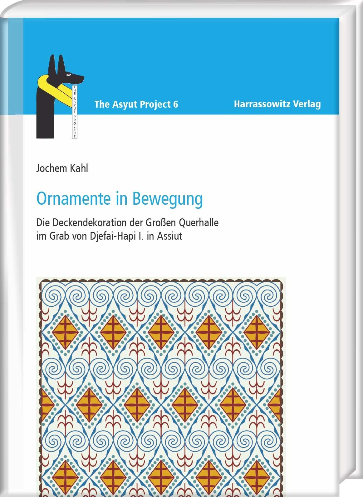 Ornamente in Bewegung | Kahl, 2016 | Buch (Cover)