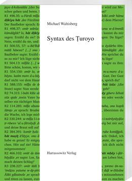 Abbildung von Waltisberg | Syntax des Turoyo | 1. Auflage | 2017 | beck-shop.de