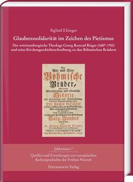 Abbildung von Ehinger   Glaubenssolidarität im Zeichen des Pietismus   1. Auflage   2016   beck-shop.de
