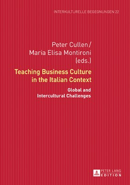 Abbildung von Cullen / Montironi | Teaching Business Culture in the Italian Context | 2016 | Global and Intercultural Chall... | 22