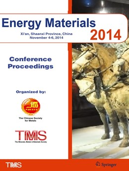 Abbildung von The Minerals, Metals & Materials Society (TMS) | Energy Materials 2014 | 1st ed. 2016 | 2017 | Conference Proceedings