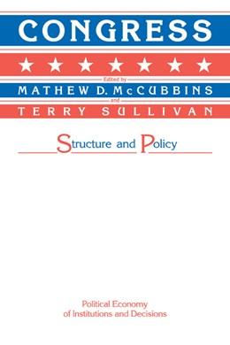 Abbildung von McCubbins / Sullivan | Congress | 1987 | Structure and Policy