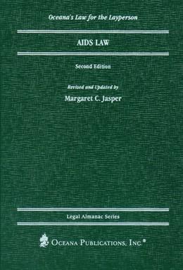 Abbildung von Jasper | AIDS and the Law | 2nd edition | 2000