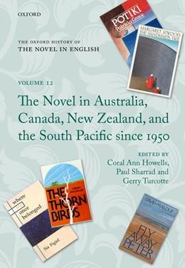 Abbildung von Howells / Sharrad / Turcotte | The Oxford History of the Novel in English | 2017