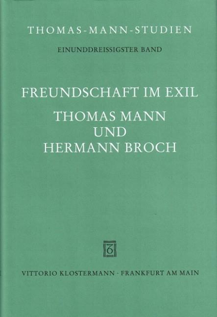 Abbildung von Lützeler   Freundschaft im Exil   2004