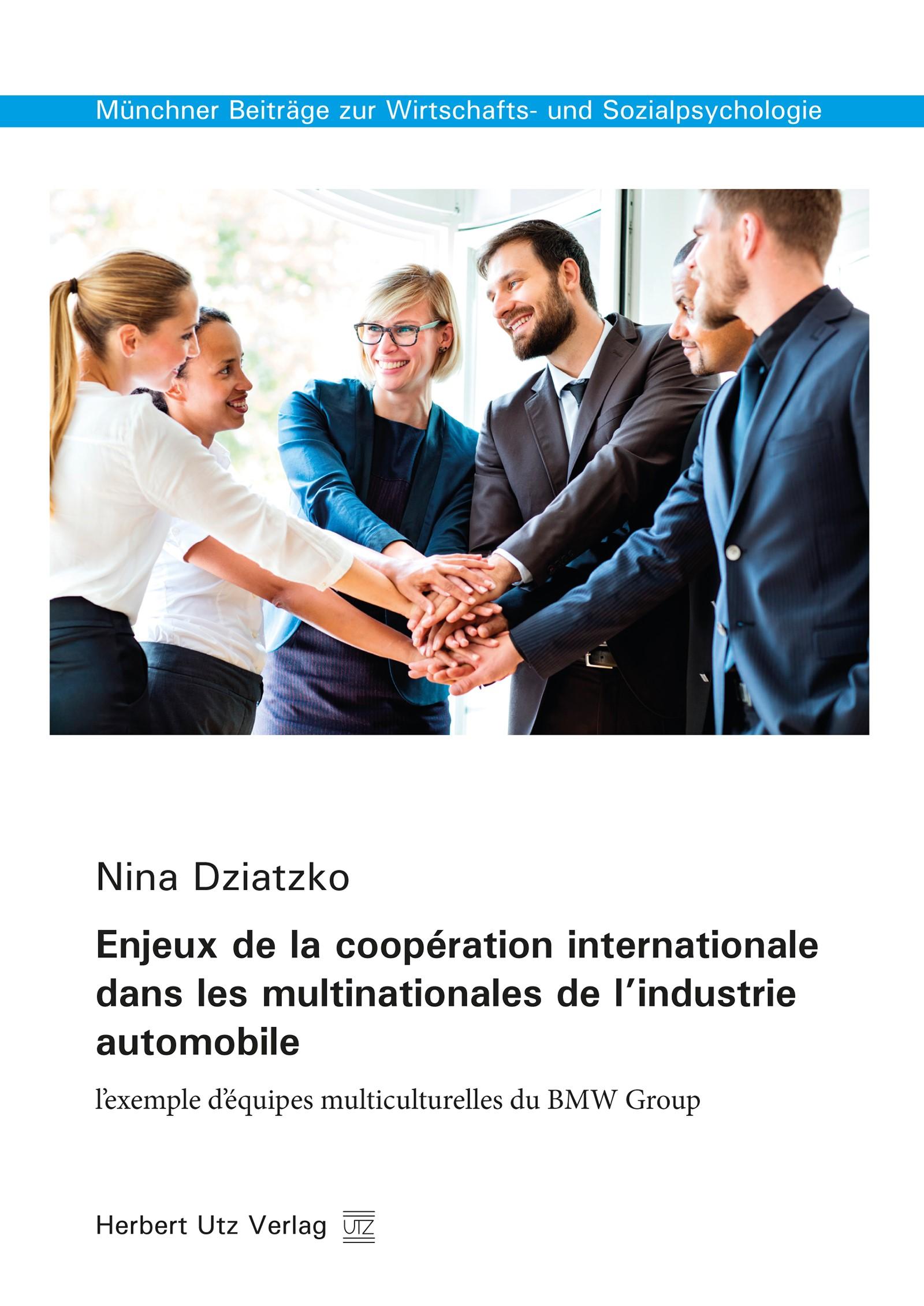 Enjeux de la coopération internationale dans les multinationales de l'industrie automobile | Dziatzko, 2016 | Buch (Cover)