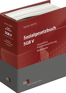 Abbildung von Hauck / Noftz | Sozialgesetzbuch (SGB) V: Gesetzliche Krankenversicherung • mit Aktualisierungsservice | Loseblattwerk mit Aktualisierungen | 2019 | Kommentar