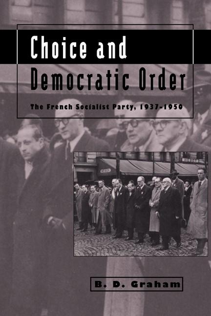 Abbildung von Graham   Choice and Democratic Order   2006