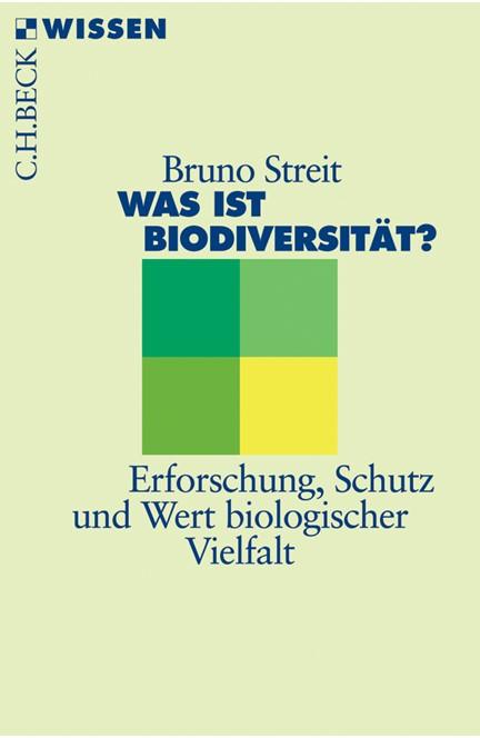 Cover: Bruno Streit, Was ist Biodiversität?