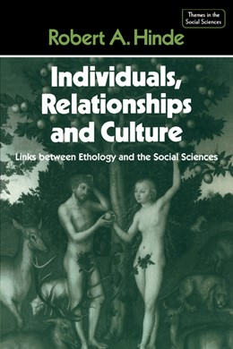 Abbildung von Hinde | Individuals, Relationships and Culture | 1987 | Links between Ethology and the...