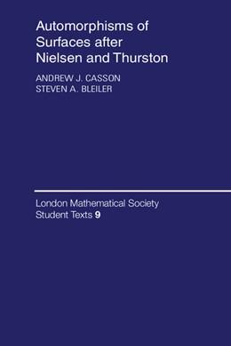 Abbildung von Casson / Bleiler | Automorphisms of Surfaces after Nielsen and Thurston | 1988 | 9